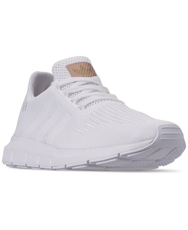 adidas Women's Originals Swift Run Casual Sneakers from Finish Line & Reviews - Finish Line Athletic Sneakers - Shoes - Macy's white