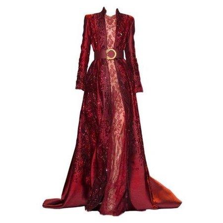 Zuhair Murad Red Gown Edit