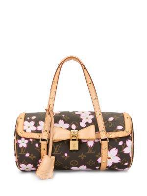 Louis Vuitton x Takashi Murakami 2003 pre-owned Cherry Blossom Monogram Papillon tote bag