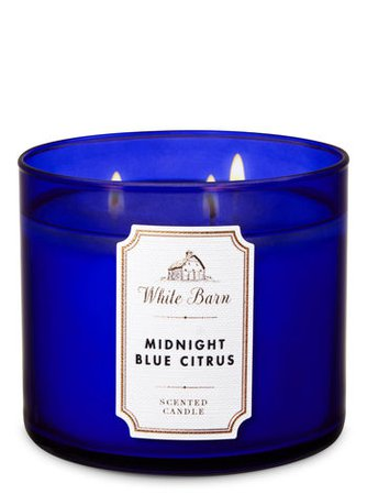 Midnight Blue Citrus 3-Wick Candle | Bath & Body Works