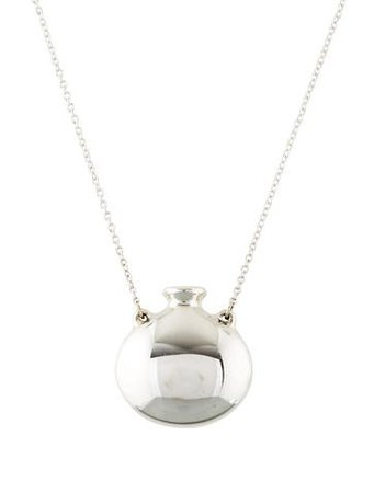 Tiffany & Co. Open Bottle Pendant Necklace - Necklaces - TIF70384 | The RealReal