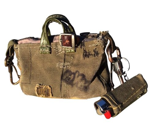 grunge purse