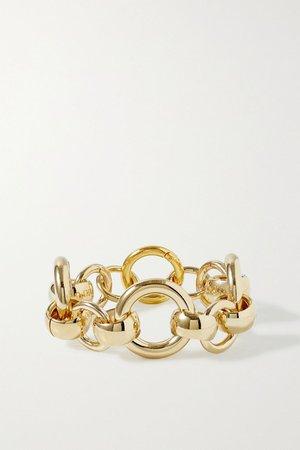 Gold Amara gold-plated bracelet | Laura Lombardi | NET-A-PORTER