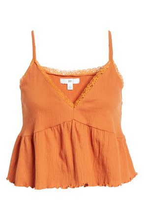 BP. Babydoll Crinkle Camisole | Nordstrom