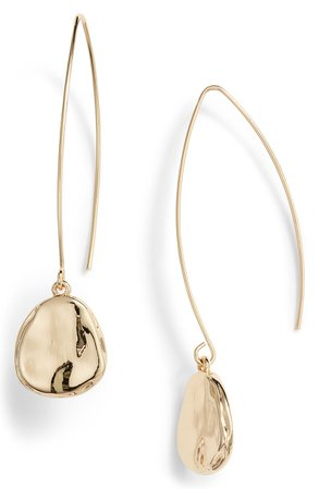 Halogen® Organic Drop Earrings | Nordstrom