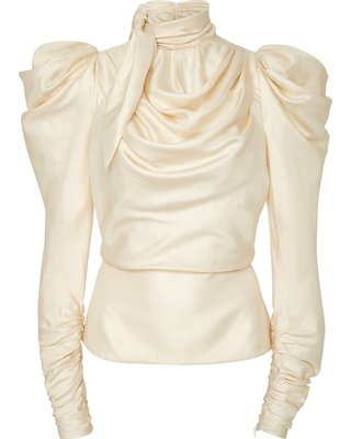 cream blouse - Google Search