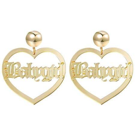 Babygirl Earrings - Own Saviour