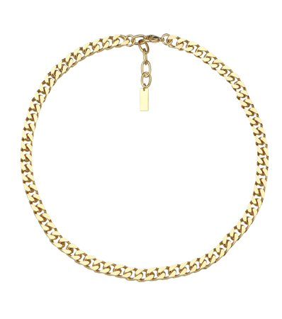 Saint Laurent, Brass necklace