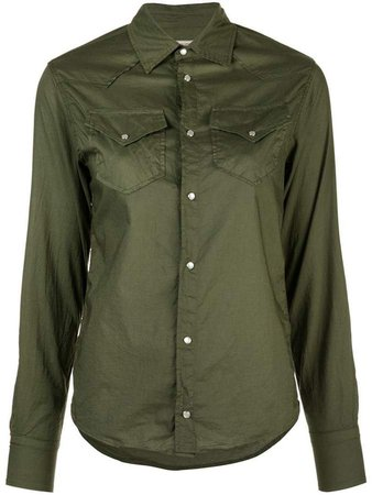 A Shirt Thing long-sleeve fitted shirt