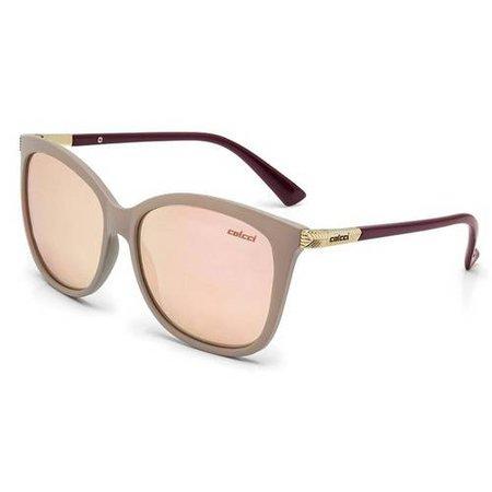 Oculos Solar Colcci Ella C0059b1946 Nude Fosco nas Lojas Americanas.com