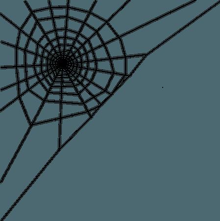 Spider Web Corner - Free vector graphic on Pixabay