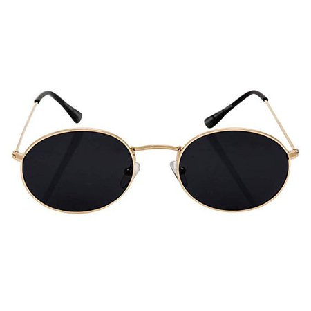 SunMod – Retro Oval Round 90s Lightweight Hipster celebrity Sunglasses for Unisex Women UV 400