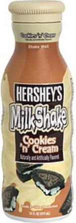 Hersheys Cookies 'n' Cream MilkShake - 14 oz, Nutrition Information | Innit