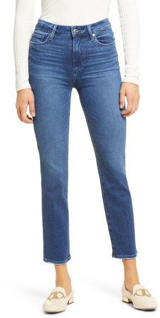 Cindy Ankle Straight Leg Jeans