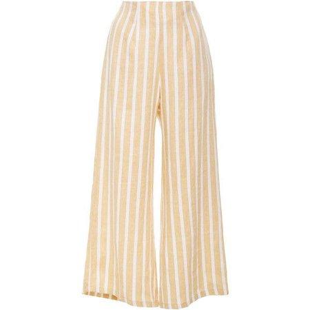 Faithfull Tomas Cropped Pants ($190)