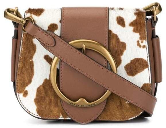 cow spot cross body bag