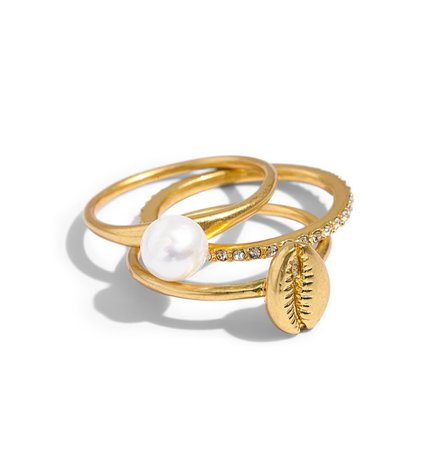 Madewell Cowrie Shell Ring