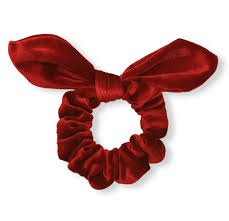 red scrunchie - Google Search