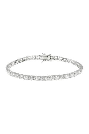 CZ By Kenneth Jay Lane | Round CZ Tennis Bracelet | Nordstrom Rack