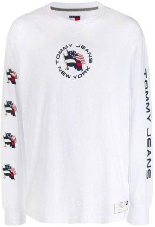 Summer Flag printed T-shirt
