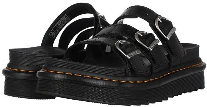 Blaire Slide (Black) Women's Shoes