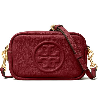 Tory Burch Perry Bombe Leather Crossbody Bag (Nordstrom Exclusive) | Nordstrom