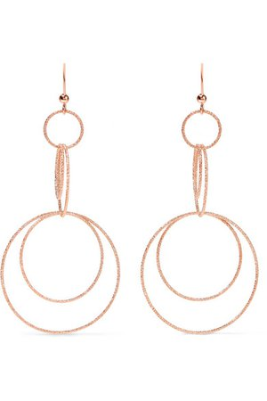 Carolina Bucci | Florentine 18-karat rose gold earrings | NET-A-PORTER.COM