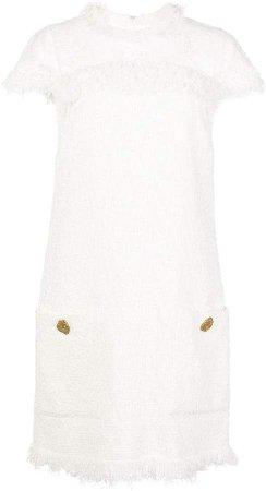 Tweed Mini Shift Dress