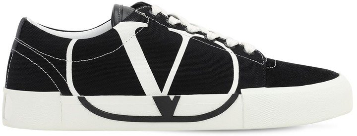 20mm Tricks Canvas & Suede Sneakers