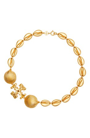 Tory Burch Shell Statement Necklace | Nordstrom