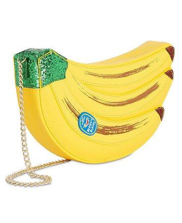 Betsey Johnson Lets Split Banana Crossbody & Reviews - Handbags & Accessories - Macy's