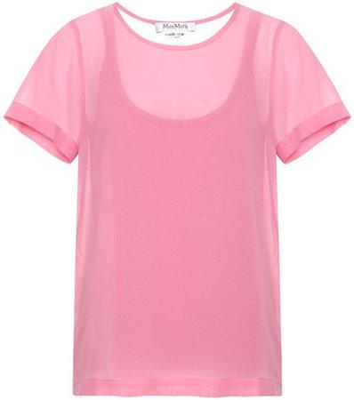 Exclusive to mytheresa.com – Rino silk top