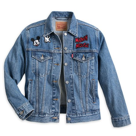 Mickey Mouse Denim Jacket for Women by Levi's | shopDisney