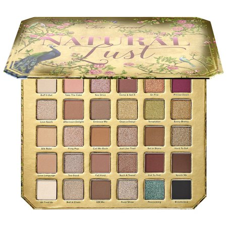 Natural Lust Palette - Too Faced | Sephora
