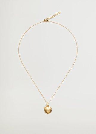 Pendant long necklace - Women   Mango USA