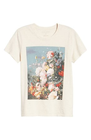 Lucky Brand Floral Still Life Graphic Tee | Nordstrom