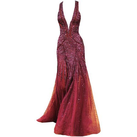 Zuhair Murad Couture Gown (Red)