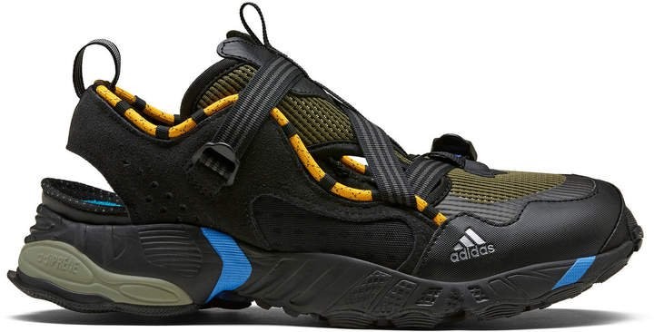 Novaturbo Cutout Mesh And Rubber Sneakers