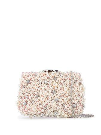 Giambattista Valli Pearl Embellished Clutch Bag - Farfetch
