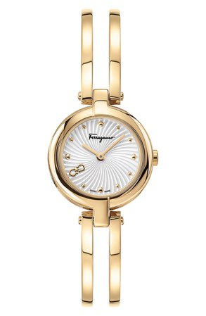 Salvatore Ferragamo Bangle Bracelet Watch; 26mm | Nordstrom