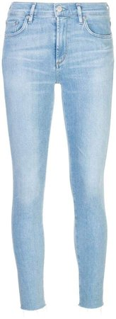 AGOLDE mid rise skinny jeans
