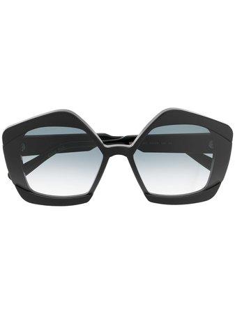 Marni Oversized Frame Sunglasses - Farfetch