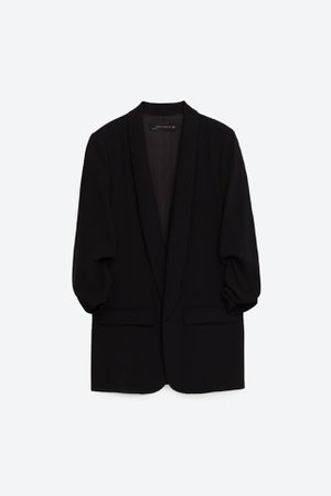 BLAZER WITH ROLLED - UP SLEEVES | ZARA United States