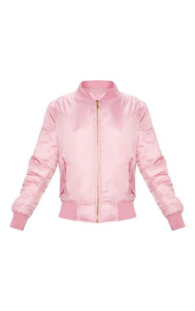 Pink Bomber Jacket   Coats & Jackets   PrettyLittleThing USA