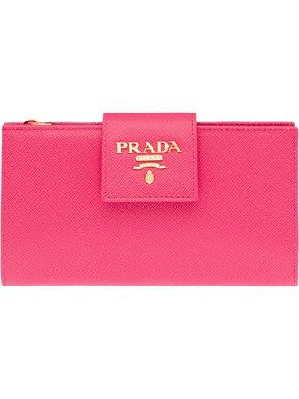 Prada Medium Saffiano Wallet - Farfetch