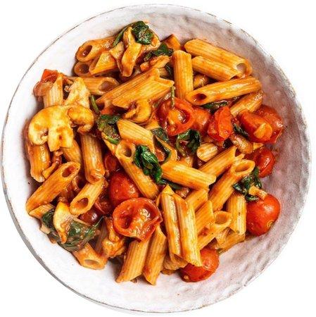 garlic sun dried tomato pasta
