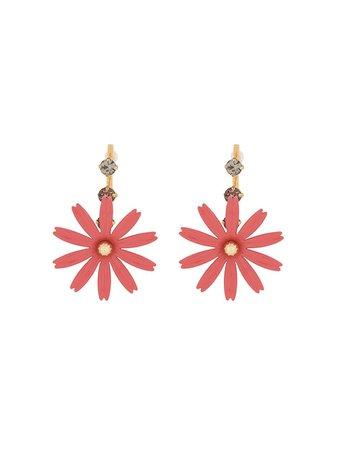 Marni Flower Drop Earrings - Farfetch