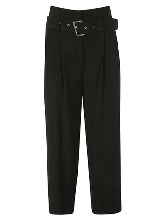 Michael Kors Cropped Length Belted Waist Trousers