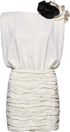 Magda Butrym Blouson Mini Dress