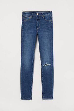 Shaping High Jeans - Blue